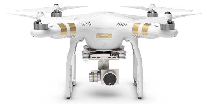 Phantom 3 Professional - Kamera Drohne