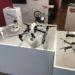 Die DJI Multicopter Flotte im Showroom / Store