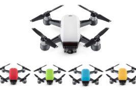 DJI SPARK – Intelligente Selfie Drohne mit Full HD Kamera, 2-Achsen Gimbal und neuen Flight Modes!