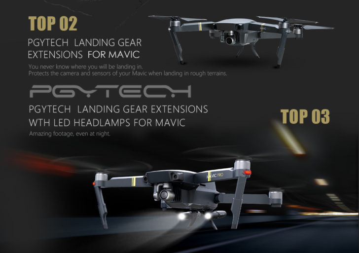 PGYTECH DJI Drohnen Zubehör goes Switzerland