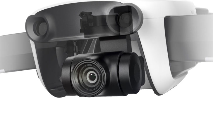 DJI Mavic Air – Hightech Drohne mit 4K Kamera, 3 Achsen Gimbal und 32 MP Sphere Panos