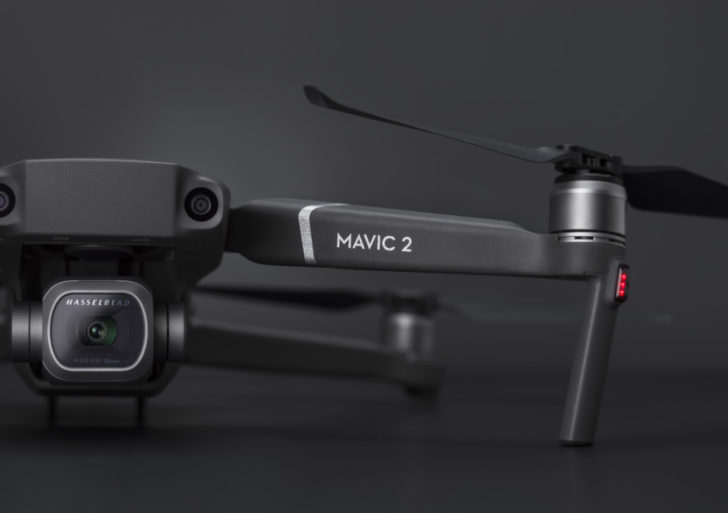 Aktualisieren der Mavic 2 Firmware mit der DJI GO 4 App