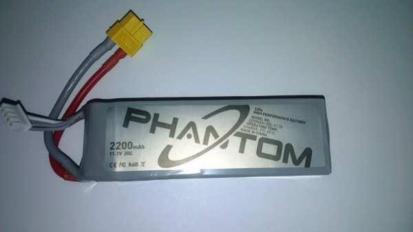 DJI Phantom Drohne Ersatzakku 2200mAh 20C