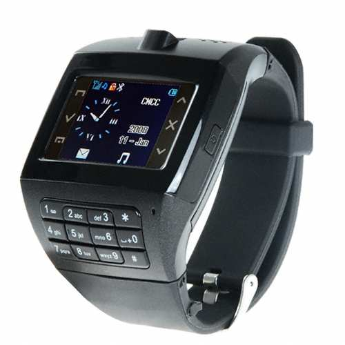 "James Bond Wrist Watch Handy - 1.4"" Touchscreen + Keypad"