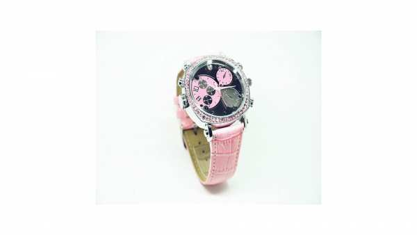 HD Spionuhr 8GB Pink Edition