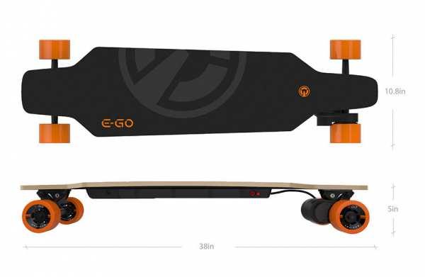E-GO CRUISER Elektro-Skateboard