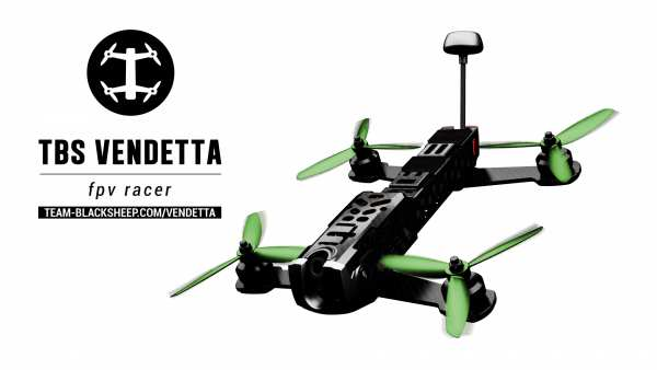 TBS Team Blacksheep Vendetta - FPV Racer