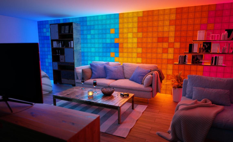 Nanoleaf-Canvas_living-room-1