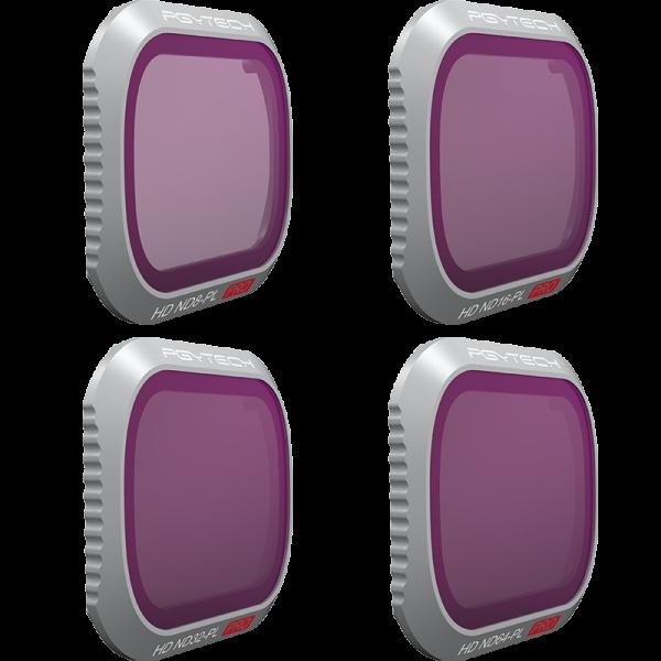 DJI Mavic 2 Pro Pol-Filterset Professional (ND8PL, ND16PL, ND32PL, ND64PL)