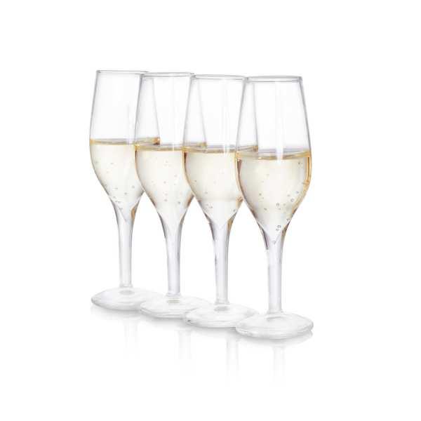 Champagne Shot Gläser (4er Set)