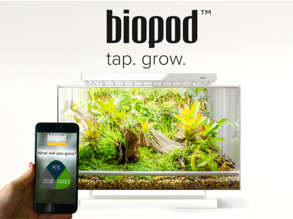Biopod - World's First Smart Microhabitat