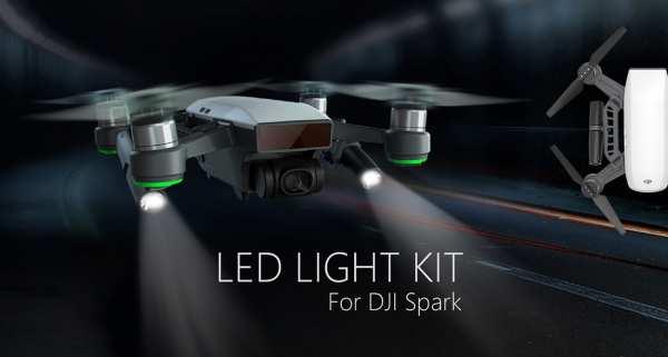 DJI Spark LED-Scheinwerfer