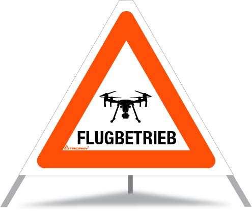 Faltsignal 60cm - für Drohnenpiloten