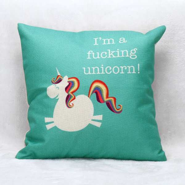 I'm a Fucking Unicorn - Kissen