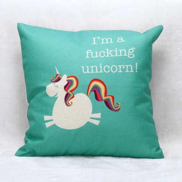 I'm a Fucking Unicorn - Kissen