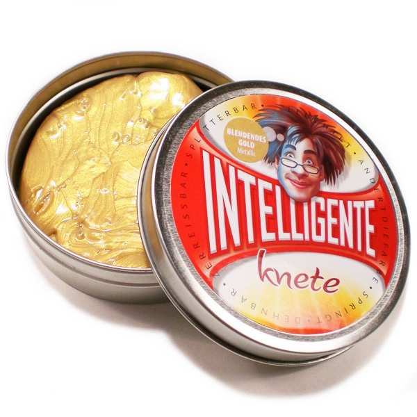 Intelligente Knete blendendes Gold