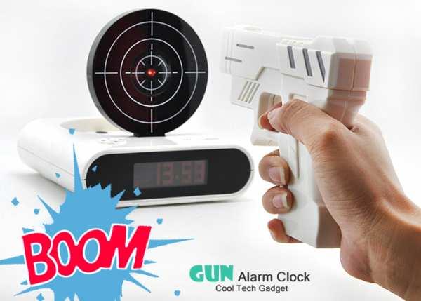 Gun Shot Wecker