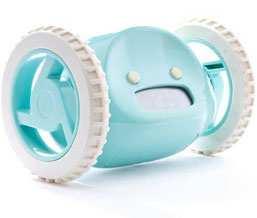 Clocky der rollende Wecker (Aqua)