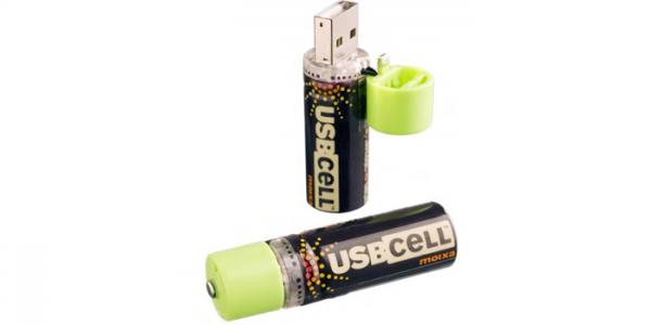 AA Akku - USB Cell - Duopack