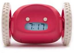 Clocky der rollende Wecker (Rot)