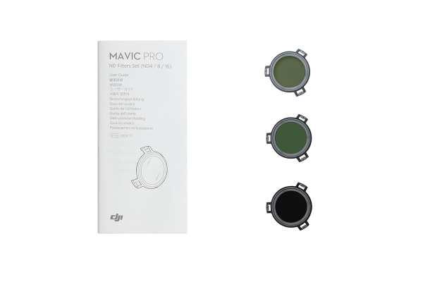 DJI Mavic ND-Filter-Set (ND4/8/16)