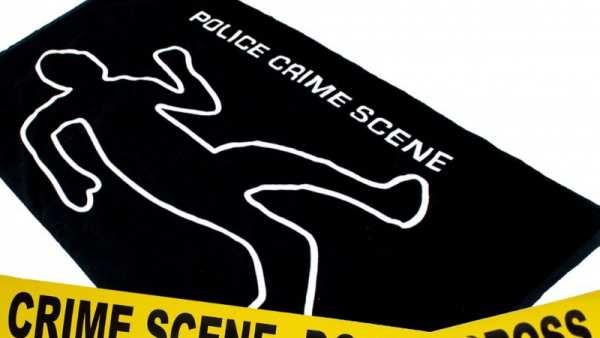 "Badetuch ""Crime Scene"""