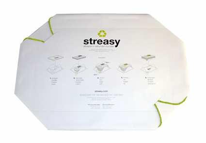 streasy® der Abfallsack für Ihr Altpapier 25er Pack
