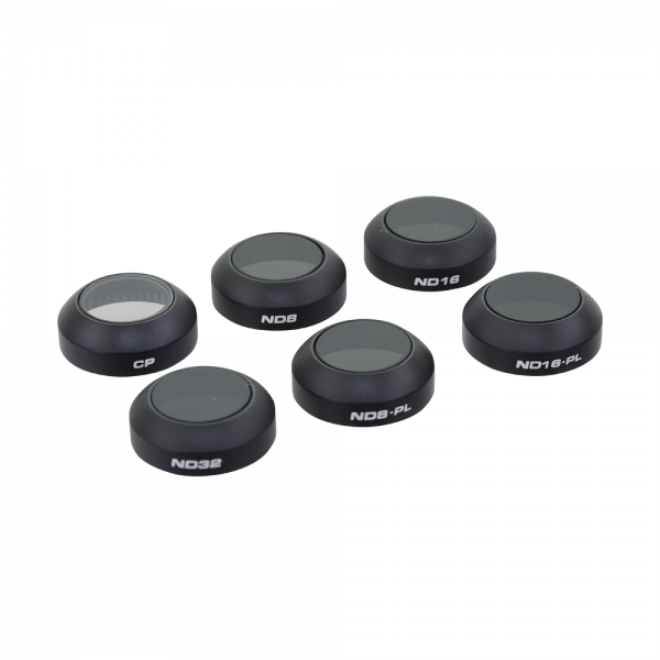 DJI Mavic Filter-Set (CP, ND8, ND16, ND32, ND8-PL, ND16-PL)
