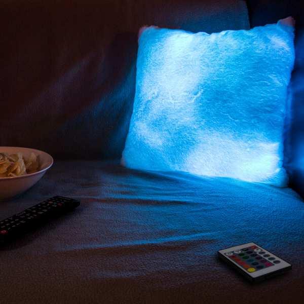 LED Stimmungskissen (inkl. Fernbedienung)