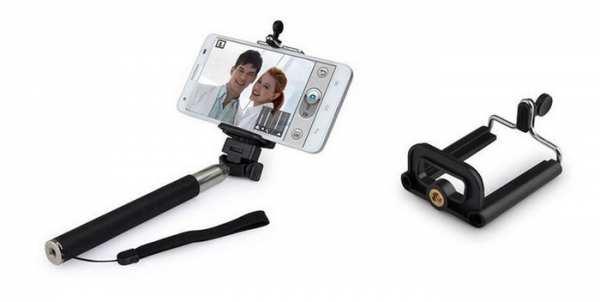 Smartphone Selfiestick mit Fernbedienung