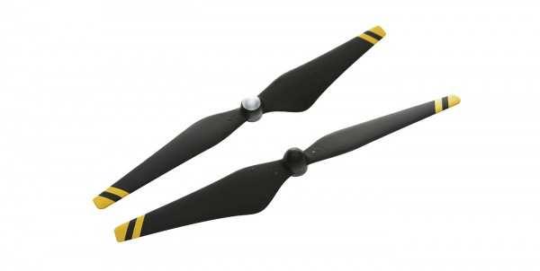 DJI 1345 Quick Release Karbon-Propeller (gelbe Streifen)