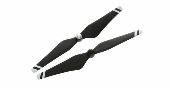 DJI 9450 selbstanziehende Karbon-Propeller (weisse Streifen)