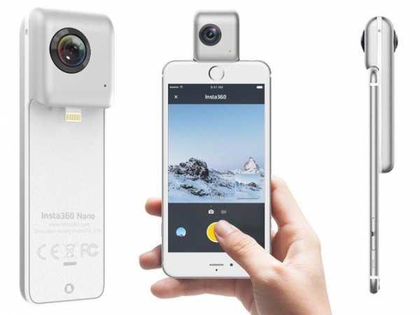 Insta 360° Nano Kamera