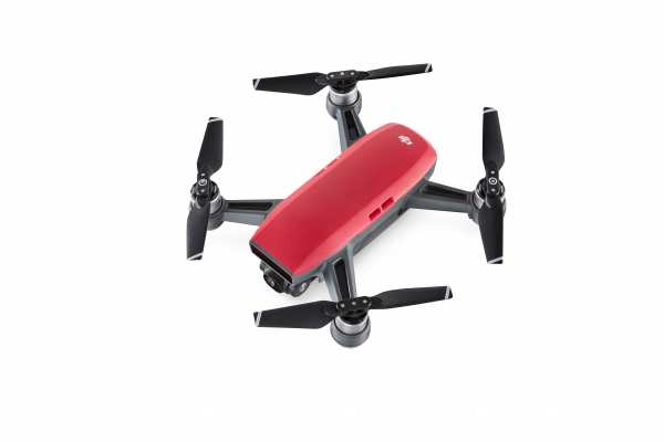 DJI Spark Fly More Combo rot