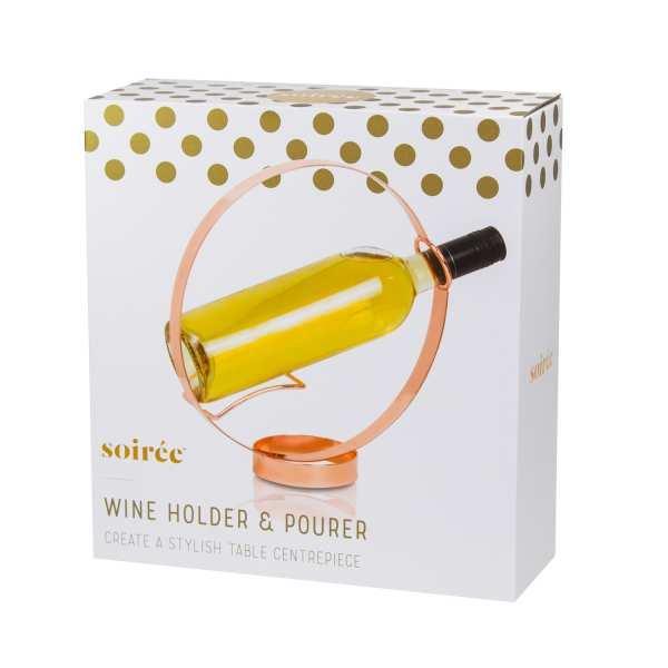 Design Weinflaschen Halter & Ausgießer