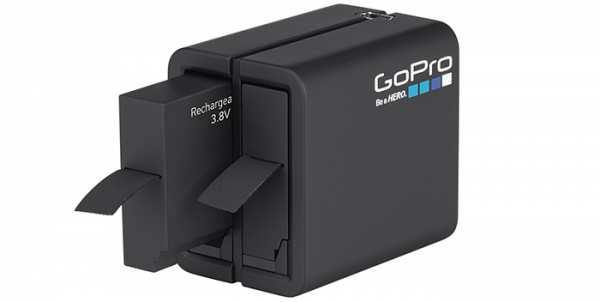 GoPro Dual Battery Charger und Akku