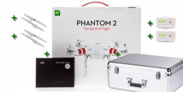 DJI Phantom 2 Pro Bundle