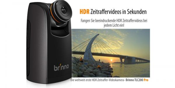 Brinno Zeitraffer-Kamera TLC200 Pro